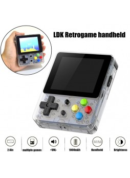 LDK Open Source Console Retrogame Handheld 16GB Clear New Latest Retro Game Handheld