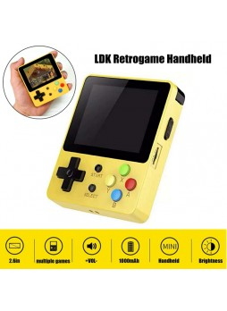 LDK Open Source Console Retrogame Handheld 16GB Yellow New Latest Retro Game Handheld