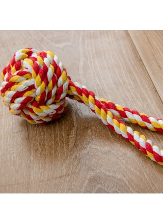 Dog Toy Bite Rope Molars Cotton Rope Ball Pet Puppy Dog Chew Knot Toy