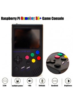 Handmade Raspberry Pi Gameboy 3A+ Game Console