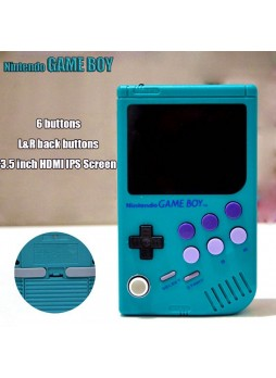 Handmade Raspberry Pi Gameboy 3B Game Console